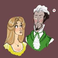 Helga and Salazar by Reggie-Arts