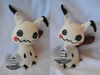 Life size Mimikyu plush - Pokemon sun and moon by BoiraPlushies