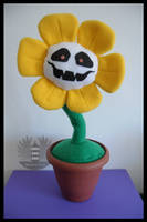 Dancing Flowey plush undertale - 2.0 by BoiraPlushies