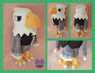 Apollo plush - Animal Crossing by BoiraPlushies