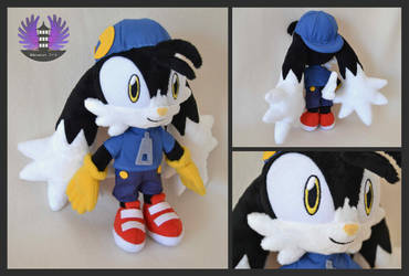 Klonoa plush by BoiraPlushies