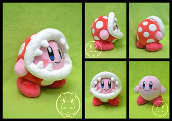 Piranha Plant Kirby plush by BoiraPlushies