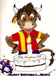 Happy Birthday,  Skifi by torochief