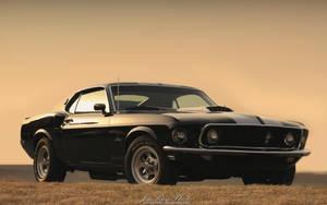 Mustang Sunset by joerayphoto