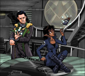 Tao et Loki by MarionPoinsot34