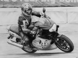 Bike drawing by absolutemadman