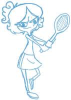Tennis Star by Taon-the-Chosen