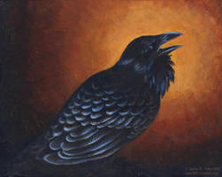 Payne's Raven by cael-illus