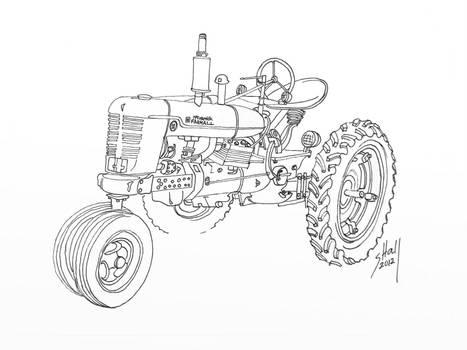 Farmall A Engine