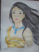 Pocahontas Aquarelle by Zoey-01