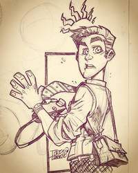 Peter Parker sketch by dtoro