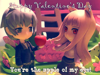 Spice and Wolf Valentine 2014 by ladyriven