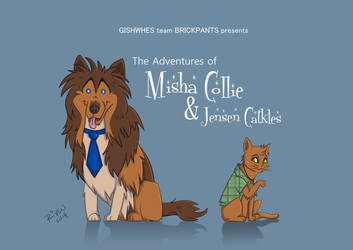 Misha Collie and Jensen Catkles by ladyriven