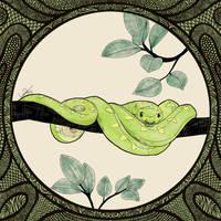 snake by lapaowan