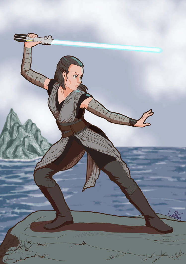 Rey - Episode VIII by lapaowan
