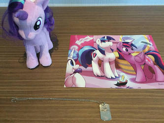 Some stuff i got at the convention by AlphaMoxley95