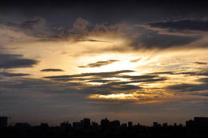 Sunset over Tokyo 4 by Openget