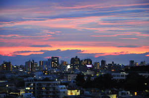 Sunset over Tokyo 5 by Openget