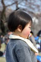 Baby at Hanami by Openget