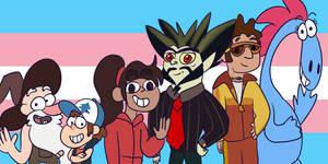 Trans Pride: Disney xd by IWantToBrowsefuckyou