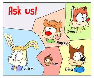 Ask us anything by JollyRode