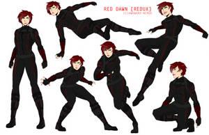 Marvel OC: Red Dawn by Awkward-Nerdd