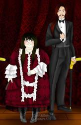 Seraphita and Leon by CherubGem by TomPendragon