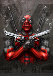 deadpool weapon x by johngiang
