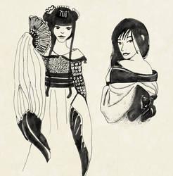 Asian Girls by Katchiannya