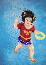 Wonder Girl by Katchiannya