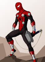 mighty spider-man by samuraiblack