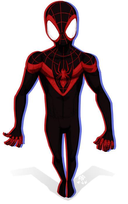 step up - spider-man by samuraiblack