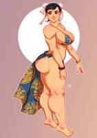 chun li - commission by samuraiblack