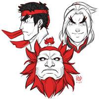 trio by samuraiblack