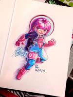 Space Explorer #1 by GirlGregg