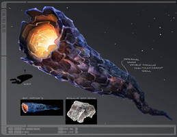 Star Trek Online Doomsday Concept Art by FBOMBheart