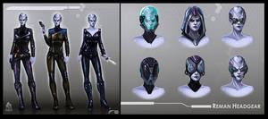 Star Trek Online Reman Concept Art by FBOMBheart