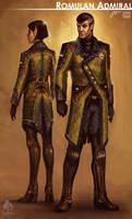 Star Trek Online Romulan Admiral Concept Art by FBOMBheart