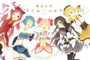 Magical Girls by Aka-Shiro