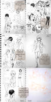 Sketchbook Pages Sale 4 [SOLD] by Aka-Shiro