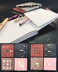 [Square Notebooks] 2017 Collection by Aka-Shiro