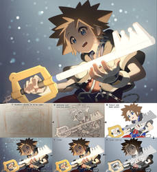 Keyblade by Aka-Shiro