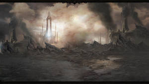 Diablo 3 Act 4 Wallpaper by Arixev