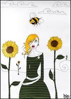 sunflowers by zum
