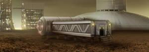HORIZON - Mars Colony by IllOO