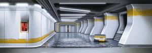 HORIZON - Corporate Hallway by IllOO