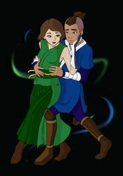 DANCE - Sokka and Suki by TobuIshi