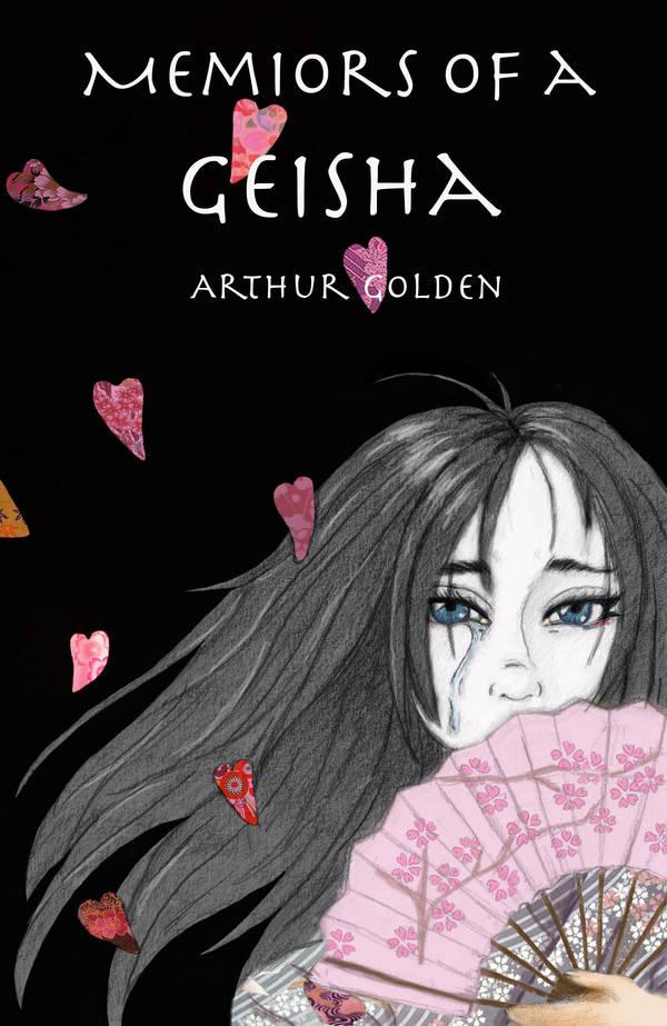 Memoirs of a Geisha Book Cover by Albino-Phoenix