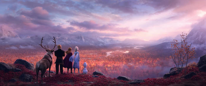 Disney Frozen 2 Tralier  by blueappleheart89