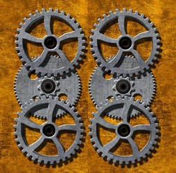 3-D Gears - Cross your Eyes by fromthemargin
